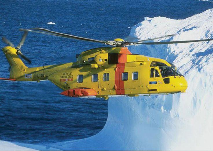 AgustaWestland AW101/CH-149 SAR Canadian Coast Guard.