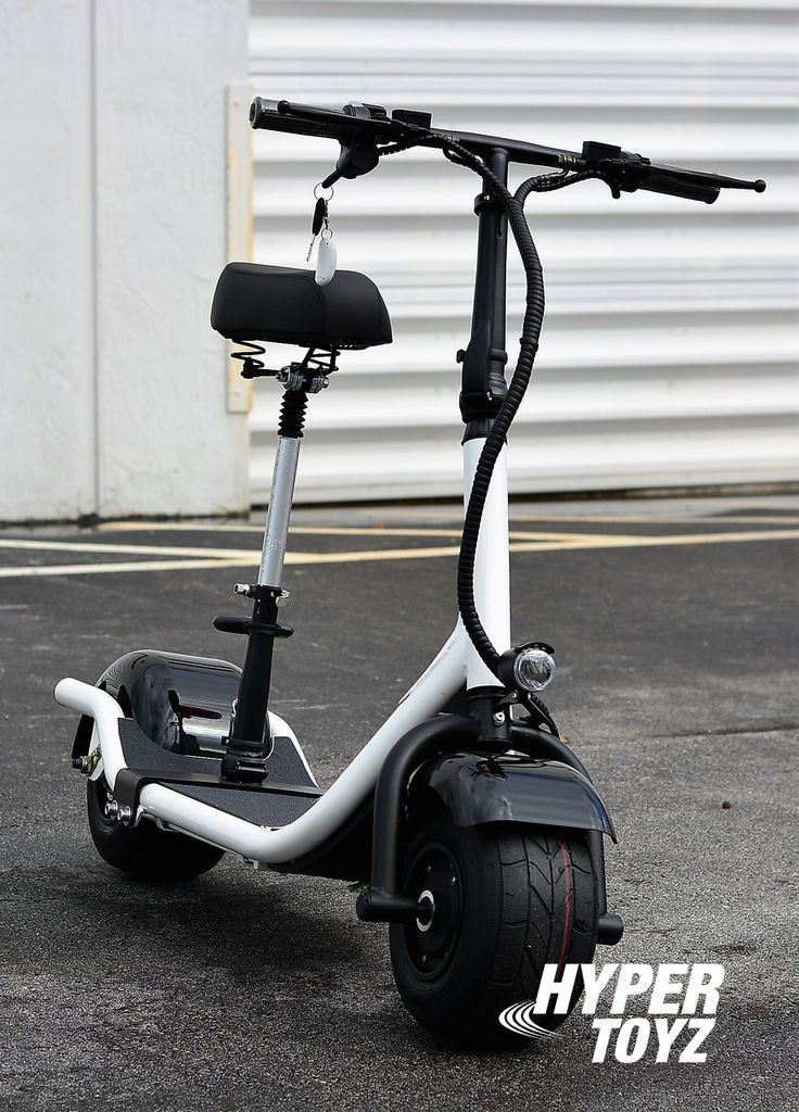 """Buy long lasting electric scooter through the online store """"Hypertoyz Inc""""."""