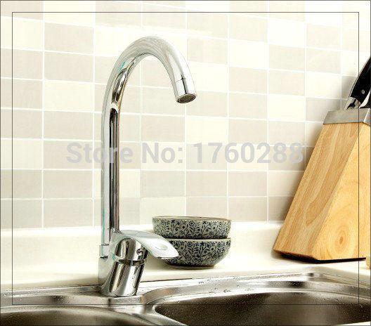 Купить товарМеди горячей и холодной воды кухонный кран смесители античная в категории Смесители для кухнина AliExpress.            &