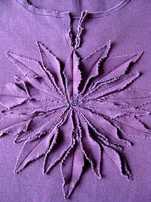 Lovely fabric flower embellishment