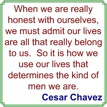 a biography and life work by cesar chavez an american farm worker Cesar chavez: a brief biography with documents new york: through his life work, ch in an interview with the farm worker press, ch.