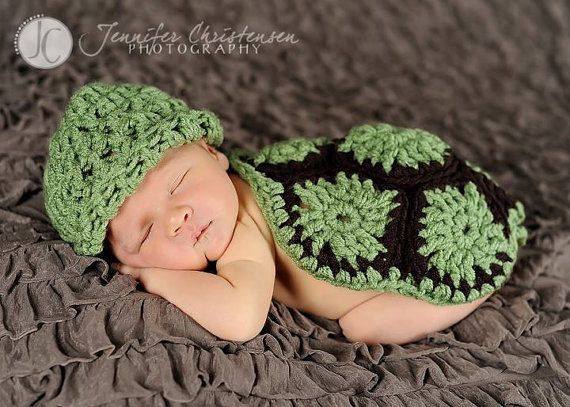 This is adorable.: Photos, Hats, Babies, Photo Ideas, Cape, Crochet, Baby Turtles, Newborn, Photography