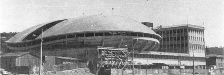 Construcción de la tortuga en Talcahuano.