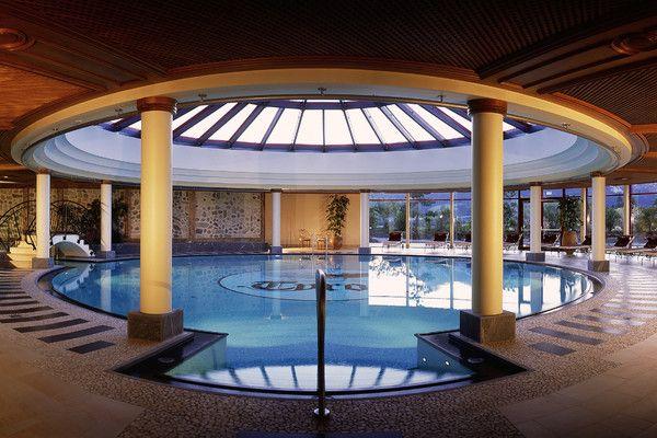 Hallenbad im Hotel Tyrol Haldensee  #Wellnesshotel #Wellness #Hotel #Tirol