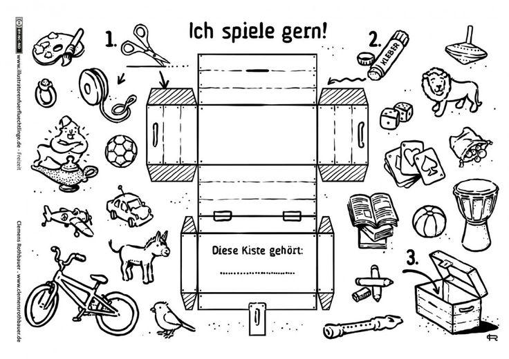 Freizeit - Spielzeug Schatzkiste Basteln - Rothbauer