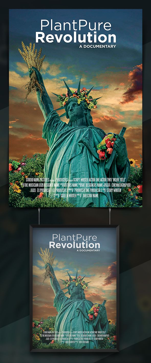 Poster design documentary - Movie Poster Design By Grandlogic Potd99 10 13 2013 Nyc Statueofliberty Sunset