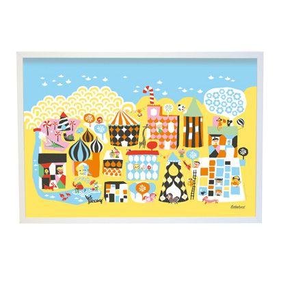 Littlephant Print Little Town