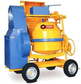 Hormigonera 4 ruedas 600litros | FEMA