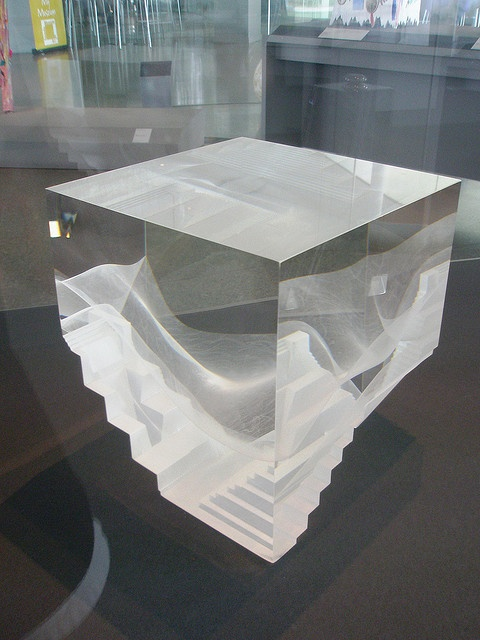 Steven Weinberg 1988 'Untitled 880206', Glass Pavillion, Toledo Museum of Art (TMA), Toledo Ohio