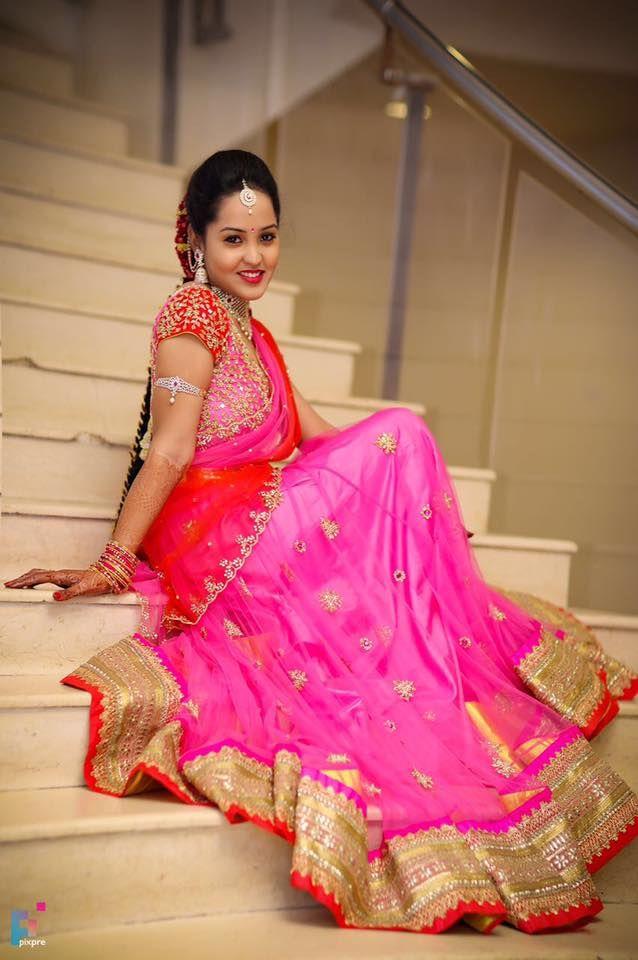 31 best Halfsaree Photography images on Pinterest | India fashion ...