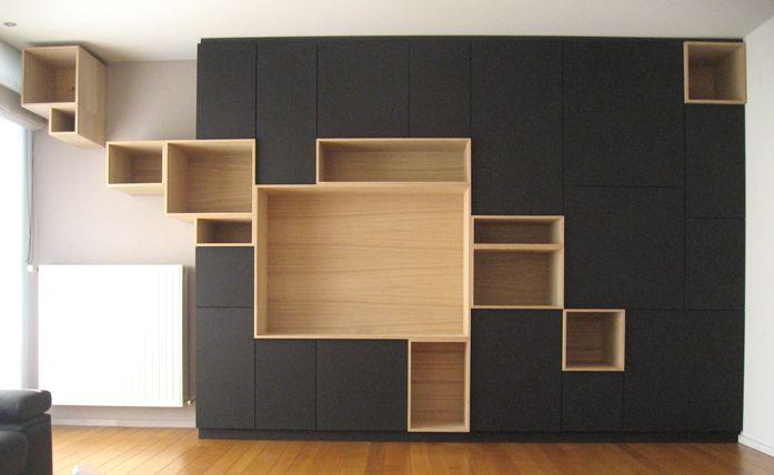 architektura, wnętrza i design: funkcjonalne i z pomysłem - regały i półki - Filip Janssens
