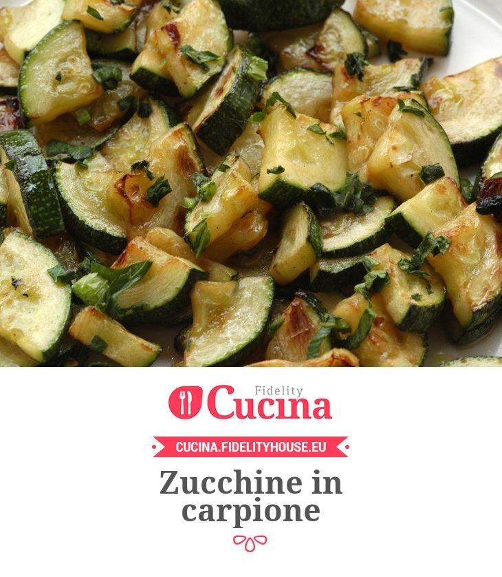 Zucchine in carpione