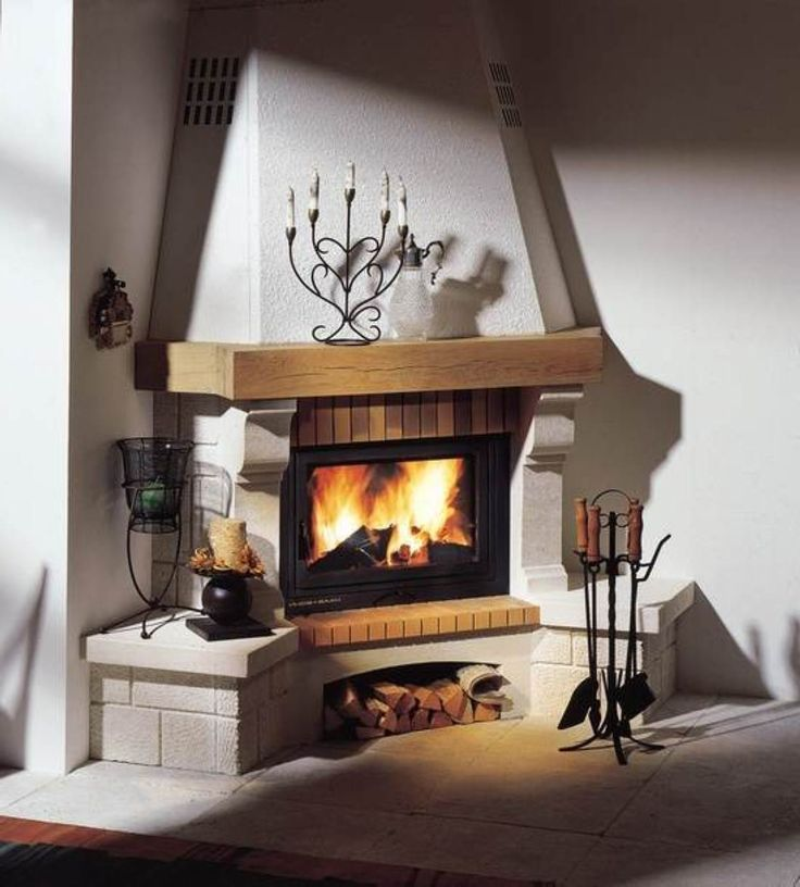Modern Corner Fireplace Design Useful Functional Better Home And Garden