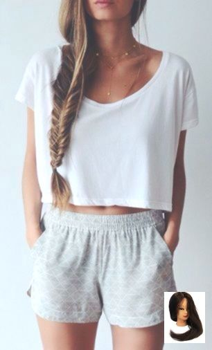 #Back To School Outfit crop tops #braids #Crop #Grey #Lazy #light