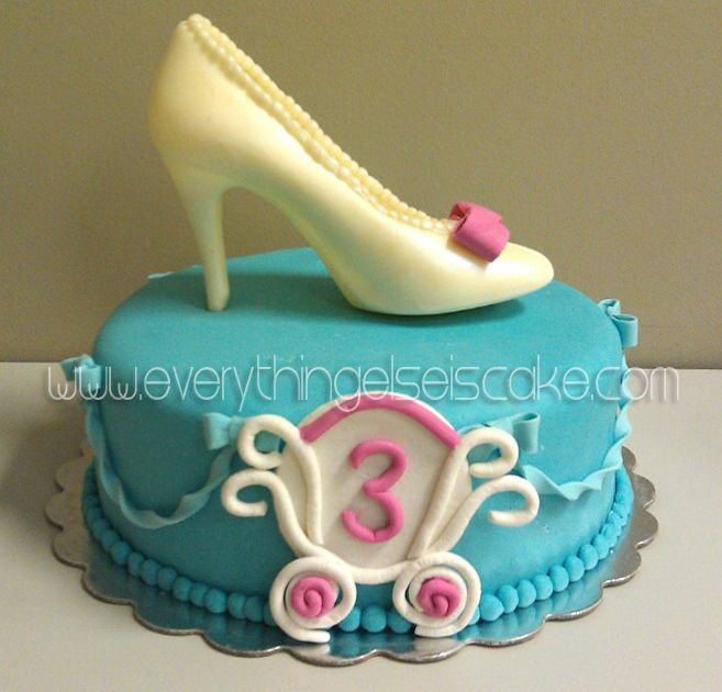 cinderella shoe birthday cake - Google Search