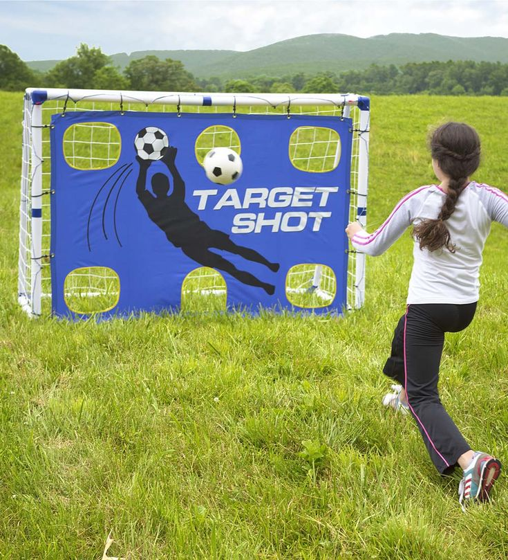 Goal for It!® 3-in-1 Soccer Trainer Goal in Outdoor Play ToysVerified BuyerVerified Buyer