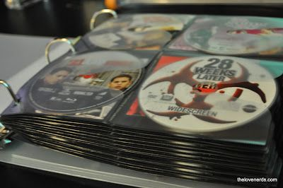 How to Save Space by using a DVD Binder Organization System