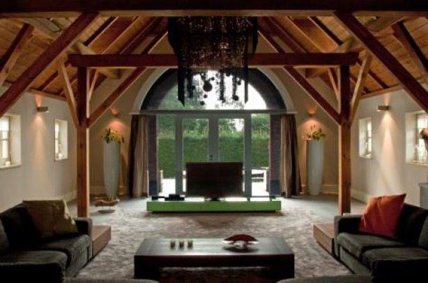 Meer dan 1000 idee n over oud huis verbouwen op pinterest huis verbouwen kozijn en kraal - Modern deco in oud huis ...