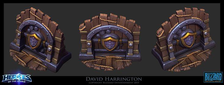 ArtStation - Heroes Of The Storm - Blackheart's Revenge Shanty Gate, David Harrington