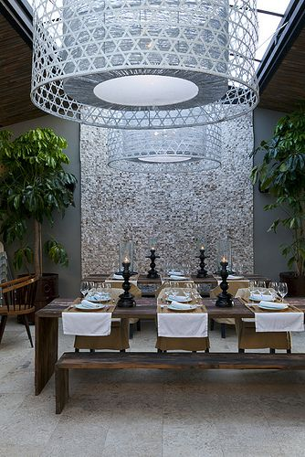 The Giri Caf Strikingly Designed Ibiza Restaurant In San Juan Interior Design InspirationLuxury
