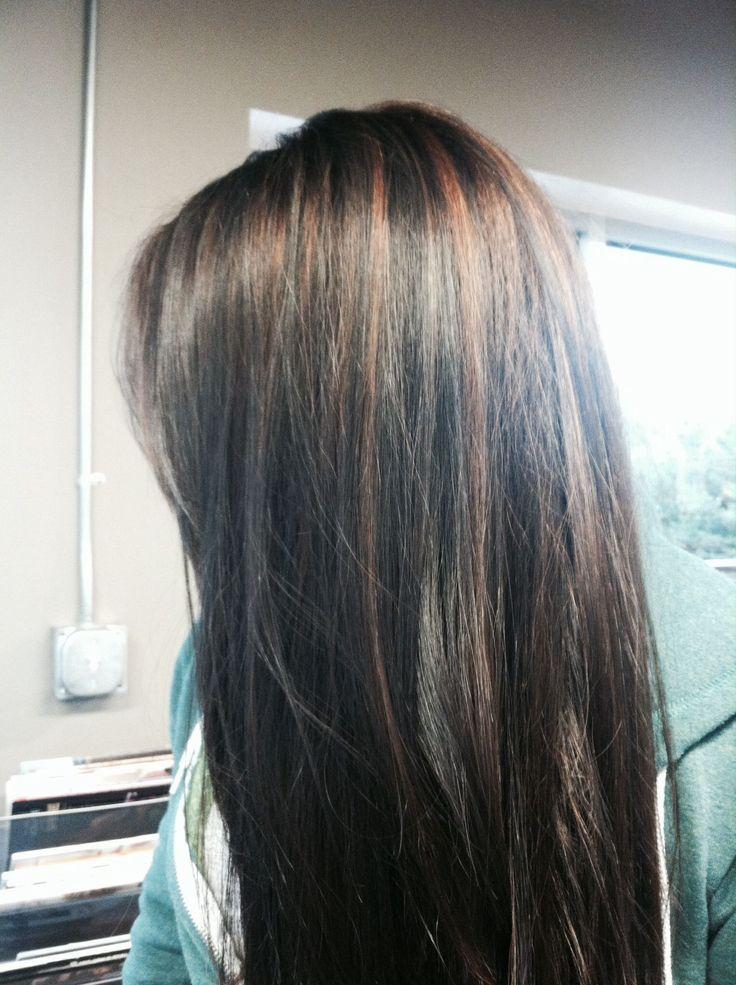 17 tolle glatte Frisuren farbliche Highlights