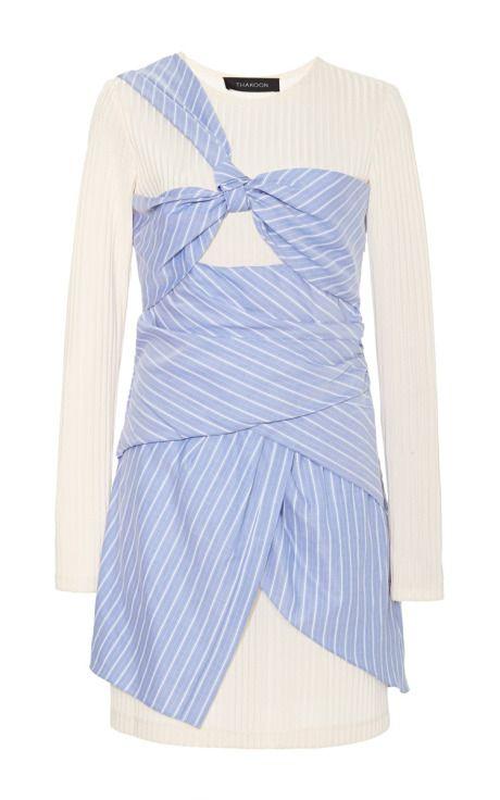 Wrap-Effect Mini Dress by Thakoon - Moda Operandi