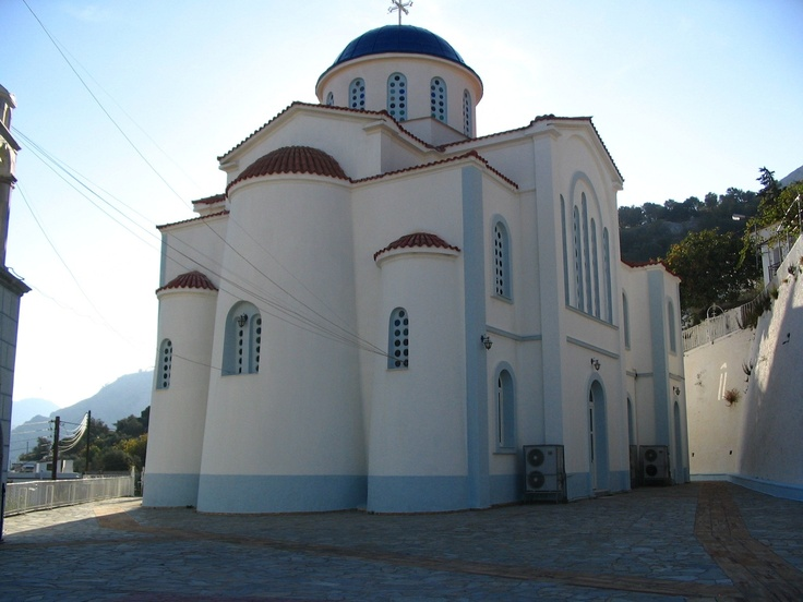 Church in Karies, Chios Greece