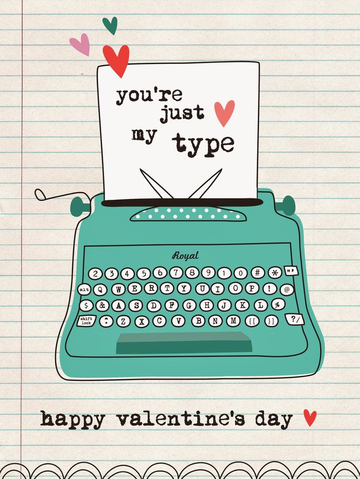 Free Valentine's Day Printable from We Love to Illustrate
