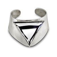 Lotus Mendes 3 Acts Of Life Cuff - Silver