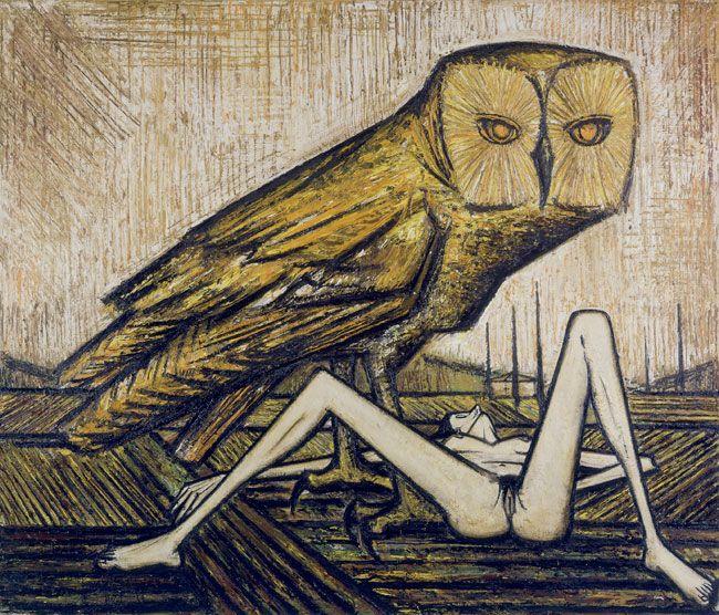 Bernard Buffet - Birds: The Owl, 1959