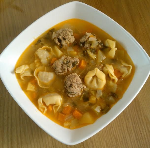Brodu with meatballs and tortellini recipe to honor Malta's Freedom Day on March 31, 1979.