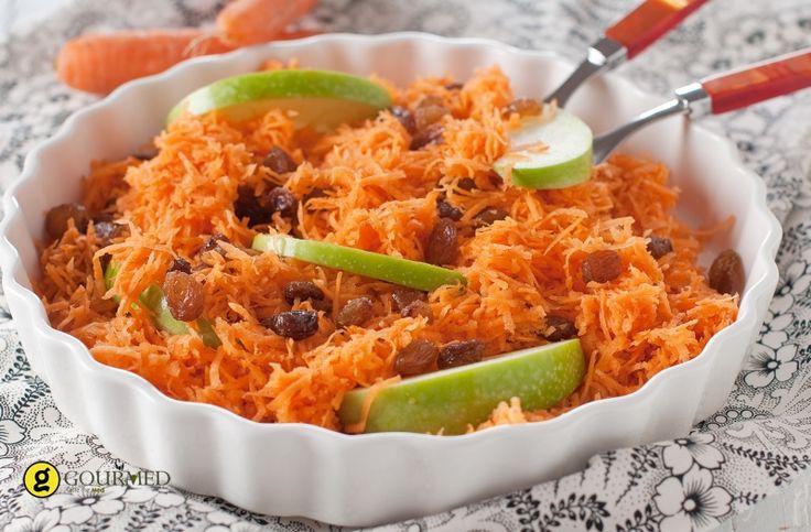 Σαλάτα καρότο με μπαχαρικά και κόλιανδρο - gourmed.gr