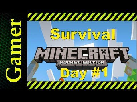 ВЫЖИВАНИЕ в Майнкрафт ПЕ 0.14.0 на Телефоне Minecraft: Pocket Edition