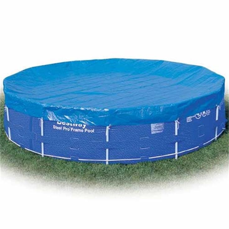 Bestway 18ft frame pool cover 18 39 garden for Garden paddling pools