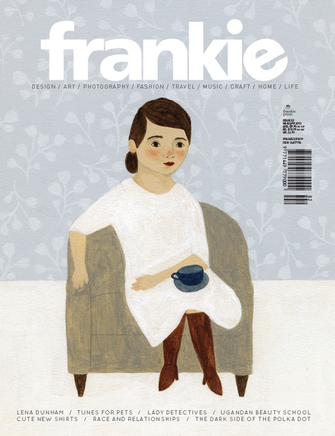 frankie magazine.. If only I lived in Australia or could afford the international fee
