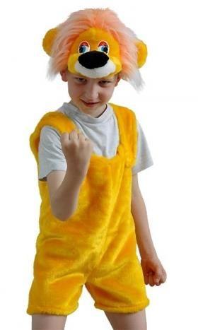 Детские мир карнавальные костюмы львенок