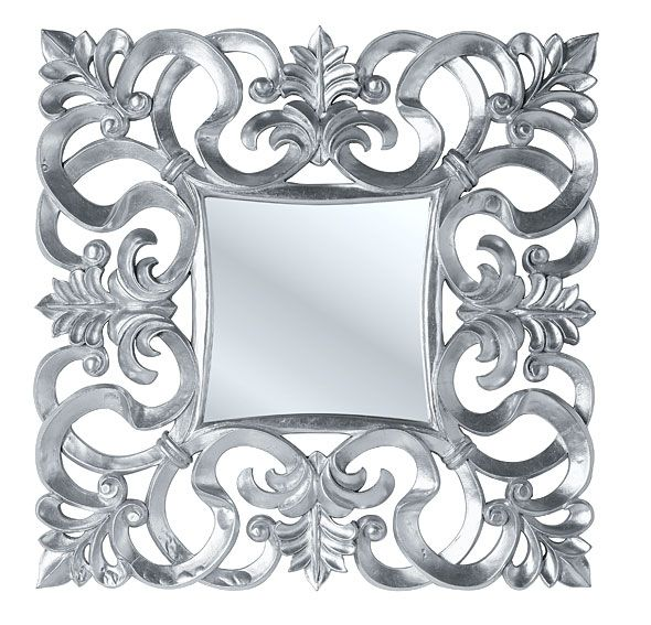 Espejo Troyes Silver - Mirror Troyes Silver