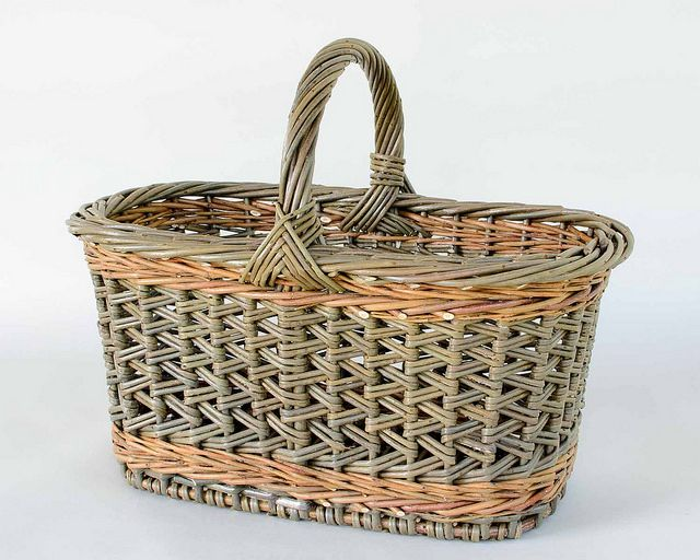zig zag weave willow shopper | Katherine Lewis