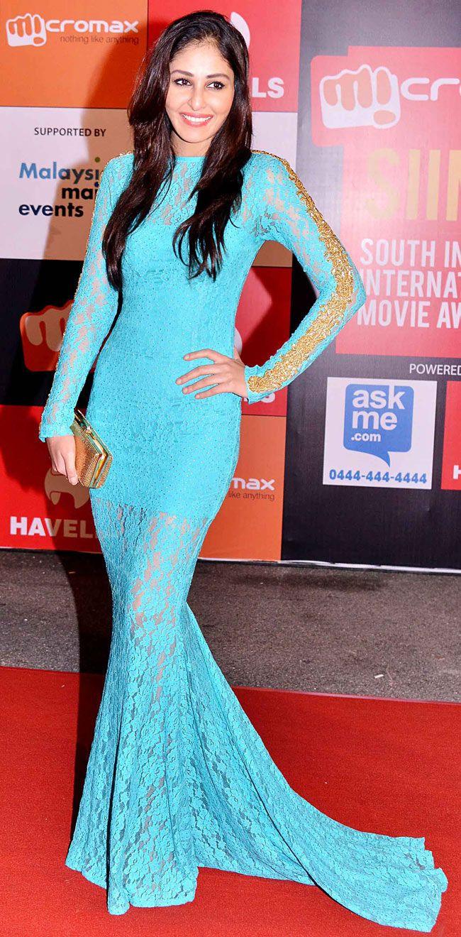 Pooja Chopra at SIIMA Awards 2014. #Bollywood #Fashion #Style #Beauty