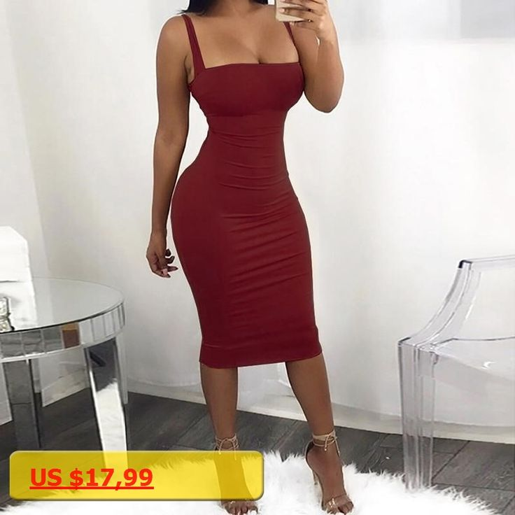 Women Strap Party Dress Knee-Length Sexy Bodycon Low-Cut Dresses Backless Bandage Ladies Femme Vestidos WS5346X