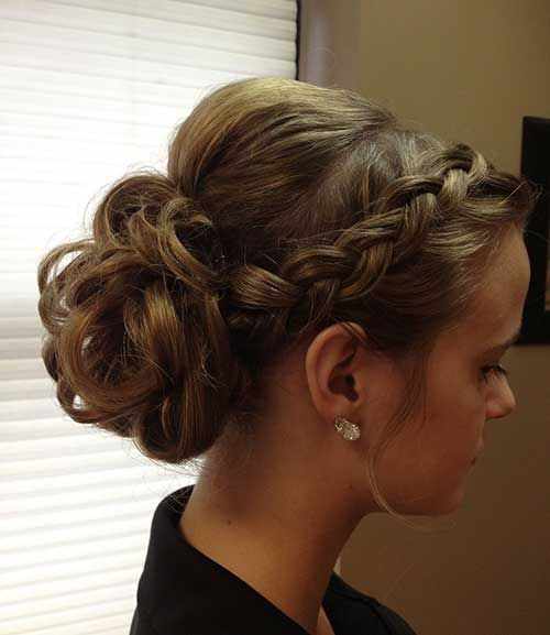 Astonishing 1000 Ideas About Updo Hairstyle On Pinterest Hairstyles Prom Short Hairstyles Gunalazisus