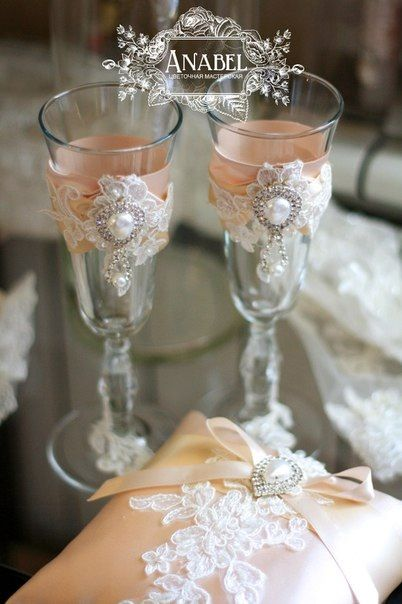 Бокалы wedding glasses