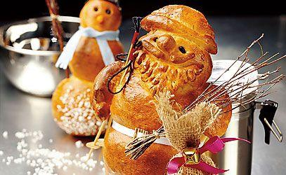 Grittibänz / Tradition am Samichlaustag 6. Dezember