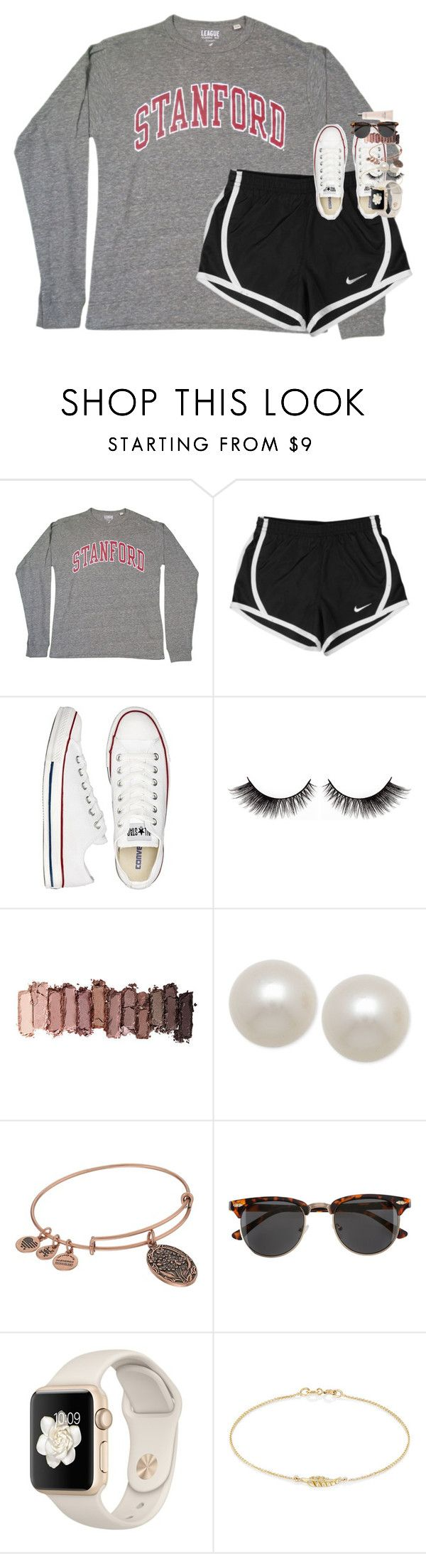"""some people are worth melting for"" by classynsouthern ❤ liked on Polyvore featuring NIKE, Converse, Urban Decay, Honora, Alex and Ani, H&M, Jennifer Meyer Jewelry and Jimmy Choo"