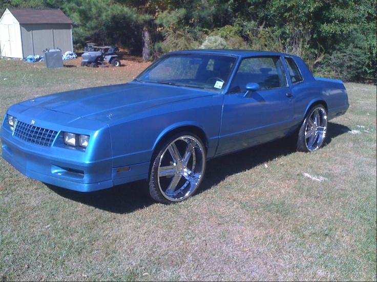 Blue 1986 Monte Carlo SS