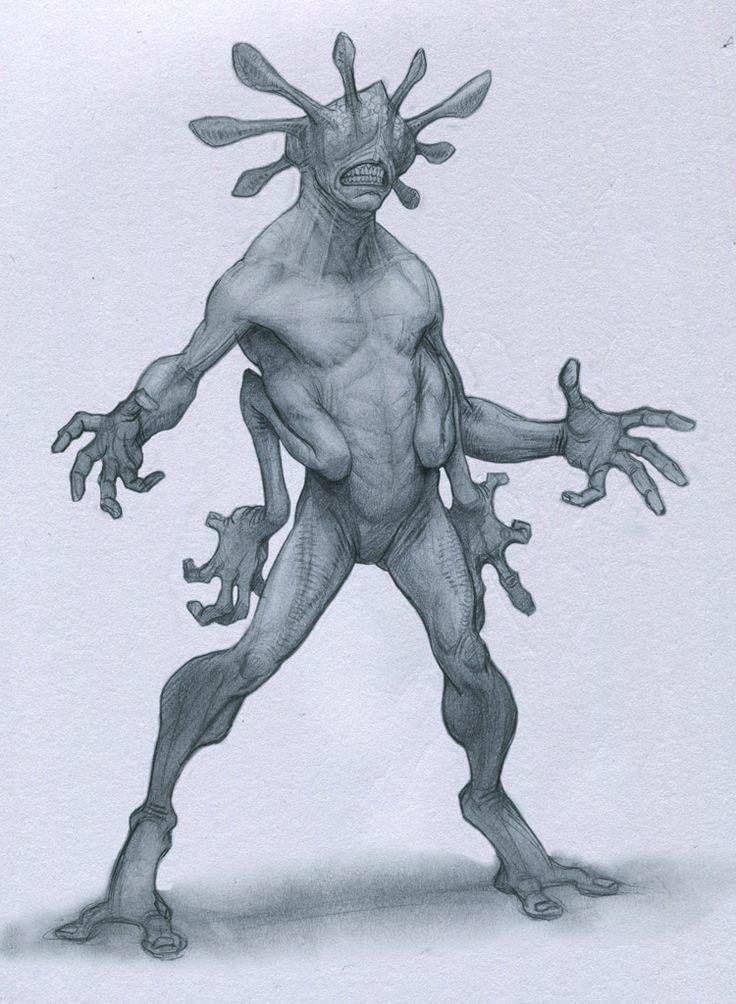 Crowned Alien by Mavros-Thanatos on DeviantArt