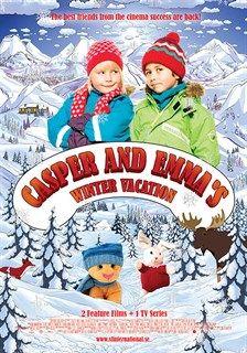 Casper en Emma op wintervakantie (Karsten og Petra på vinterferie)