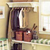 Whether your mudroom is in the front of the house or back of the house, these well organized spaces show that you often don't need a whole room as a drop zone — just a wall or a corner will do. Here are a few ideas for tackling those muddy boots and misplaced mittens this winter.