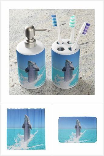 Dolphin Ocean Bathroom