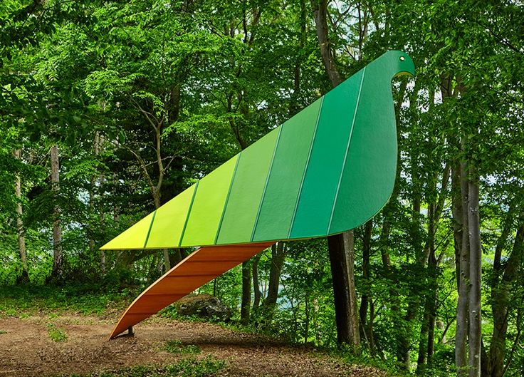 birds eye view treehouse by noma bar for the ando foundation